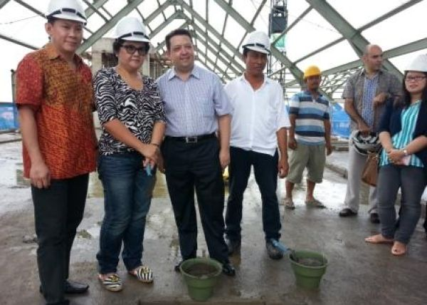 Info Progress Topping Off Ibis Style Hotel Bali 4 isbmng